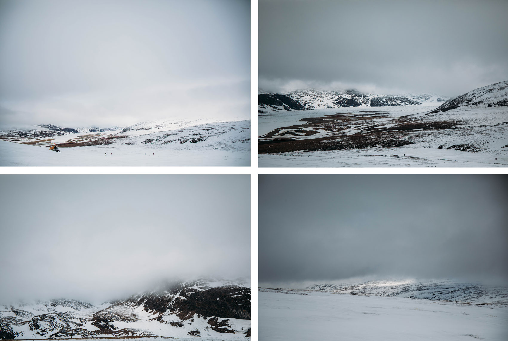 paysages incroyables du Nunavik