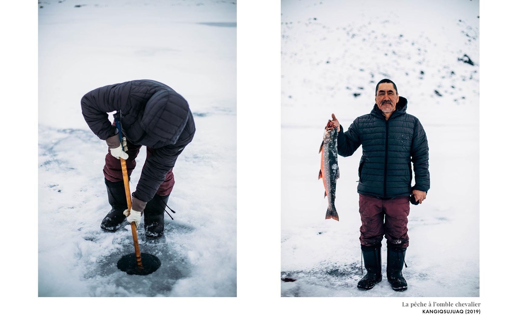 pêche omble chevalier inuits Québec