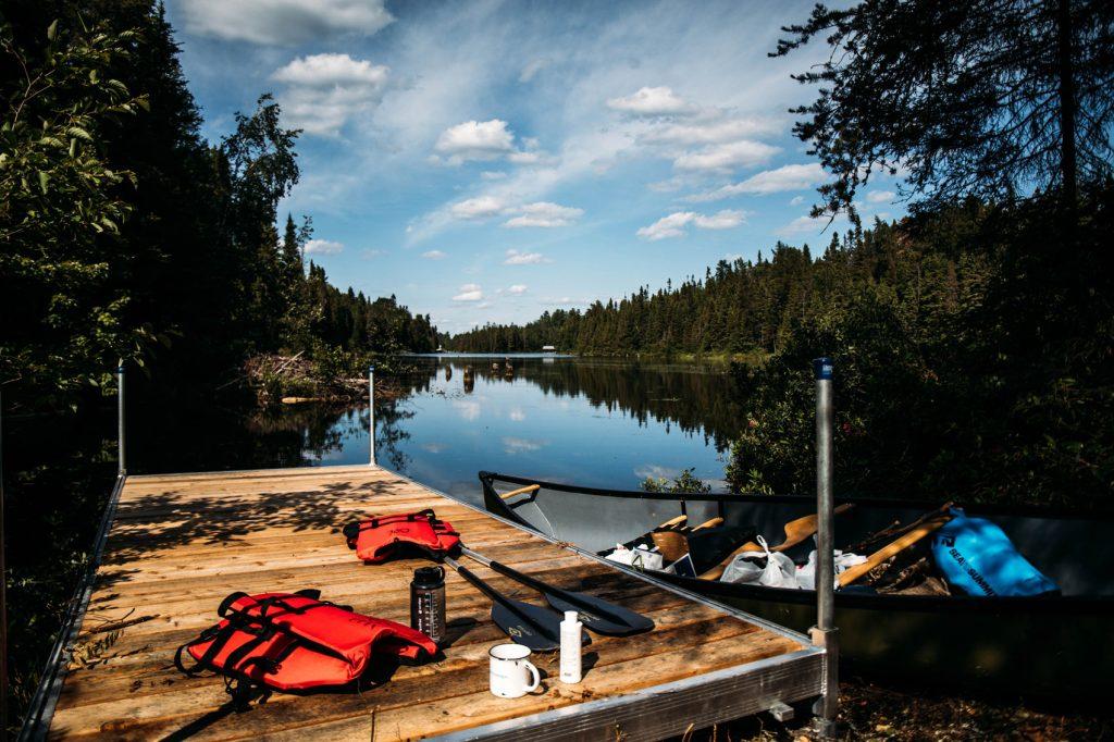 préparation matériel canot-camping au Québec