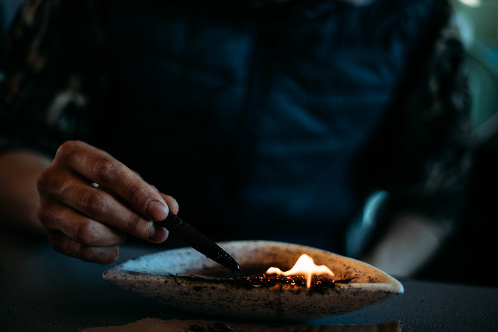 qulliq lampe traditionnelle inuite