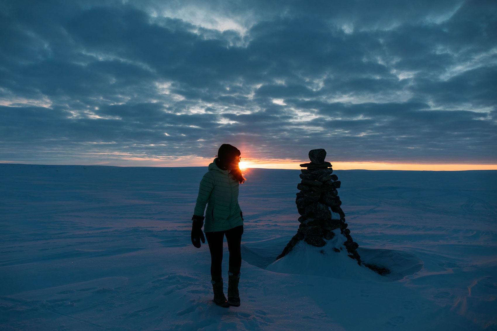 rencontre avec le peuple inuit au Nunavik