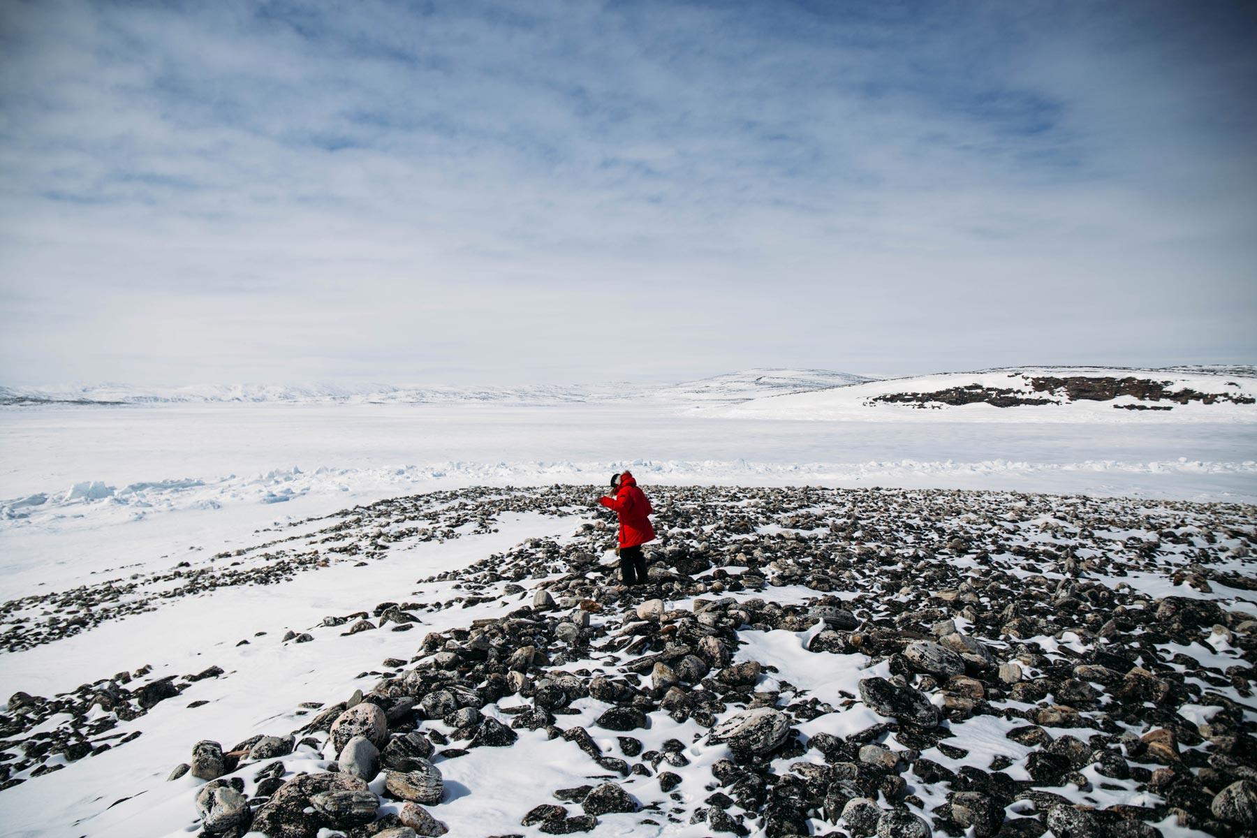 seule au monde au Nunavik