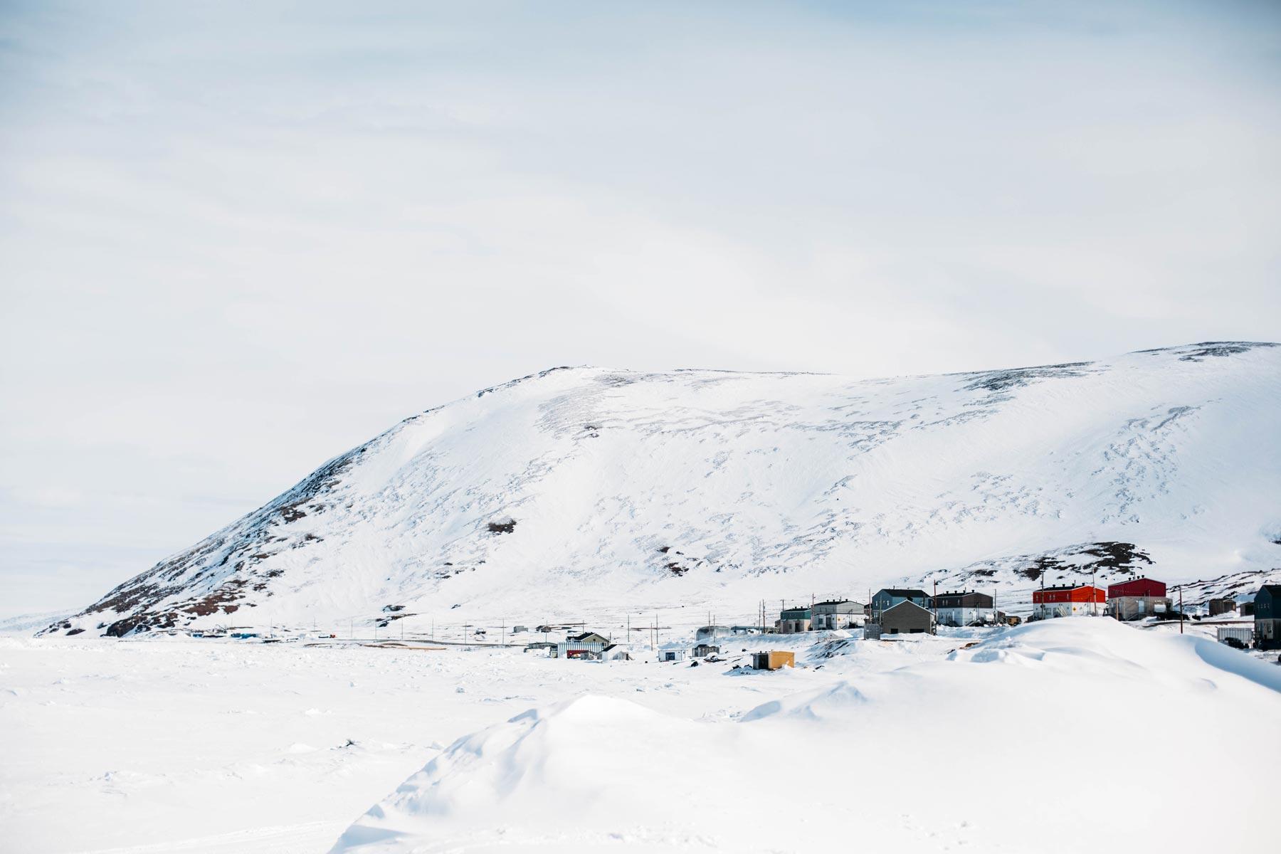 village de Kangiqsujuaq Nunavik au Québec