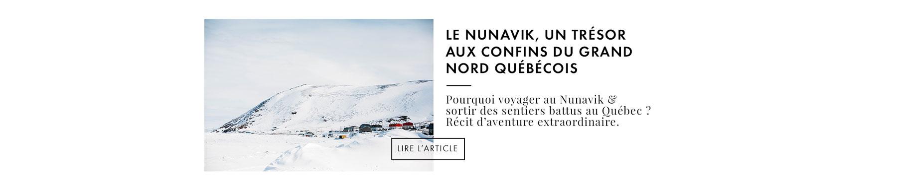 voyage au Nunavik blog Québec