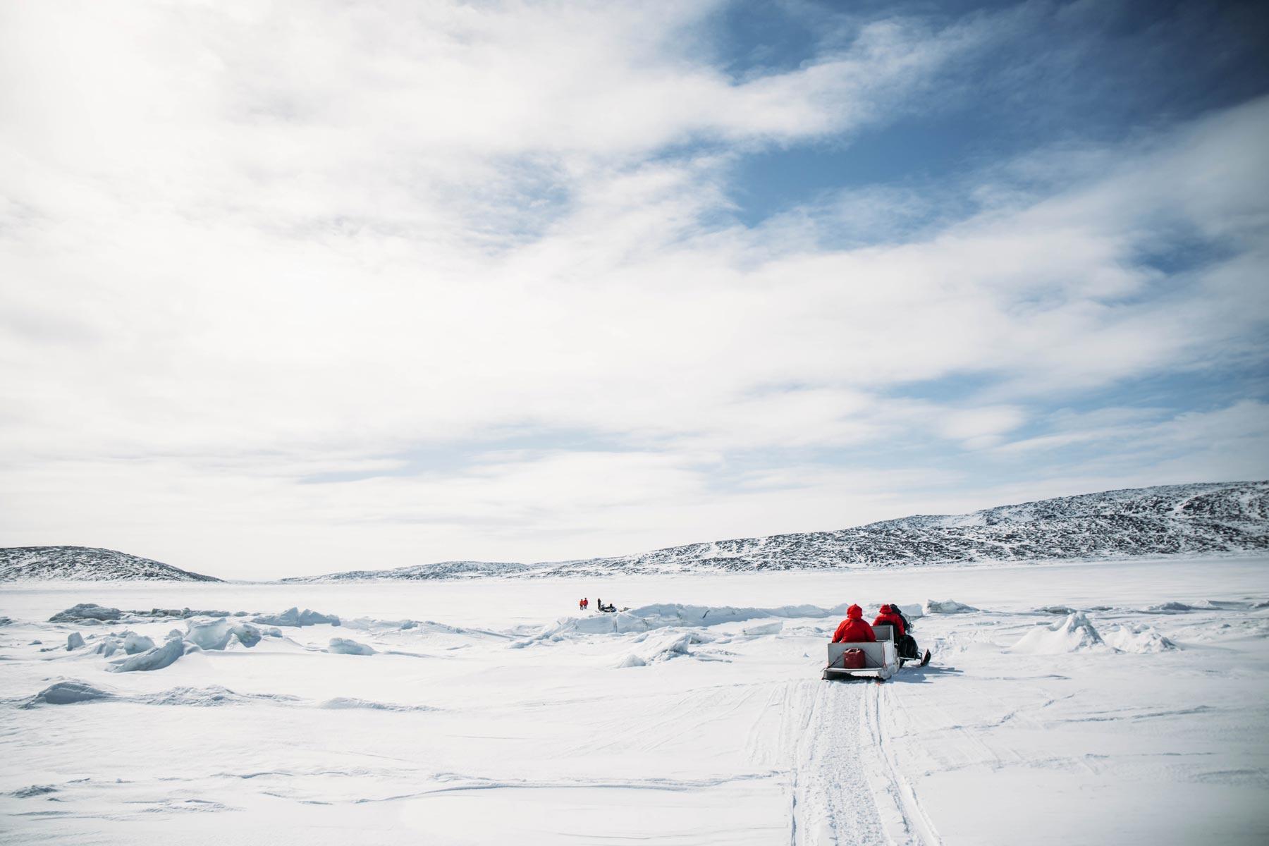 voyage grand nord Canada en hiver