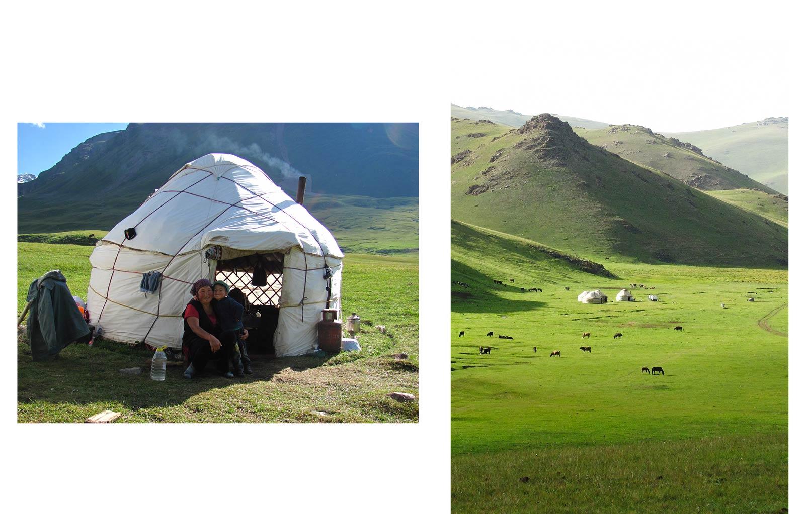 voyager hors des sentiers-battus au Kirghizistan