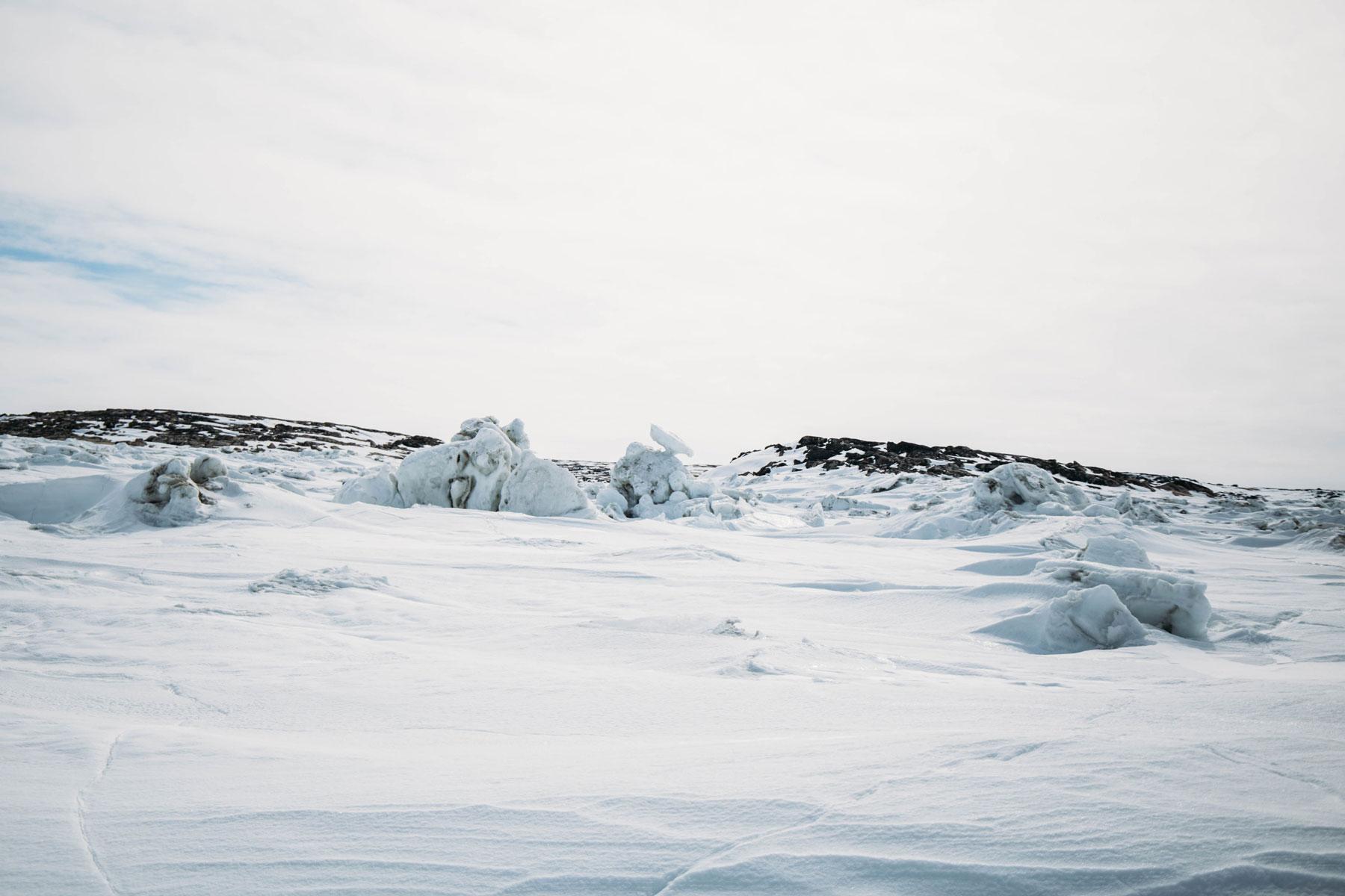voyager dans l'arctique canadien