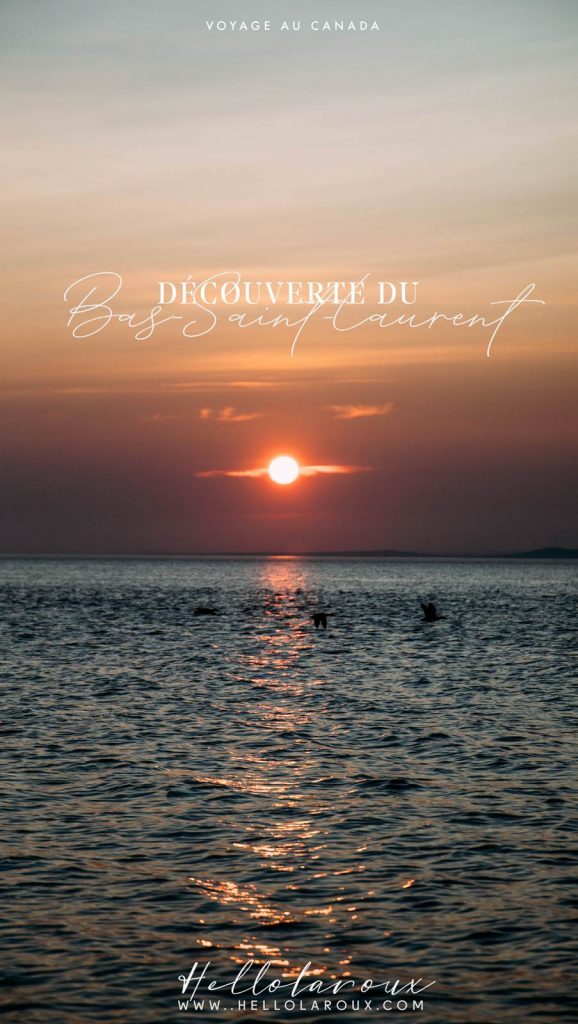 blog voyage découverte du Bas-Saint-Laurent en 4 jours