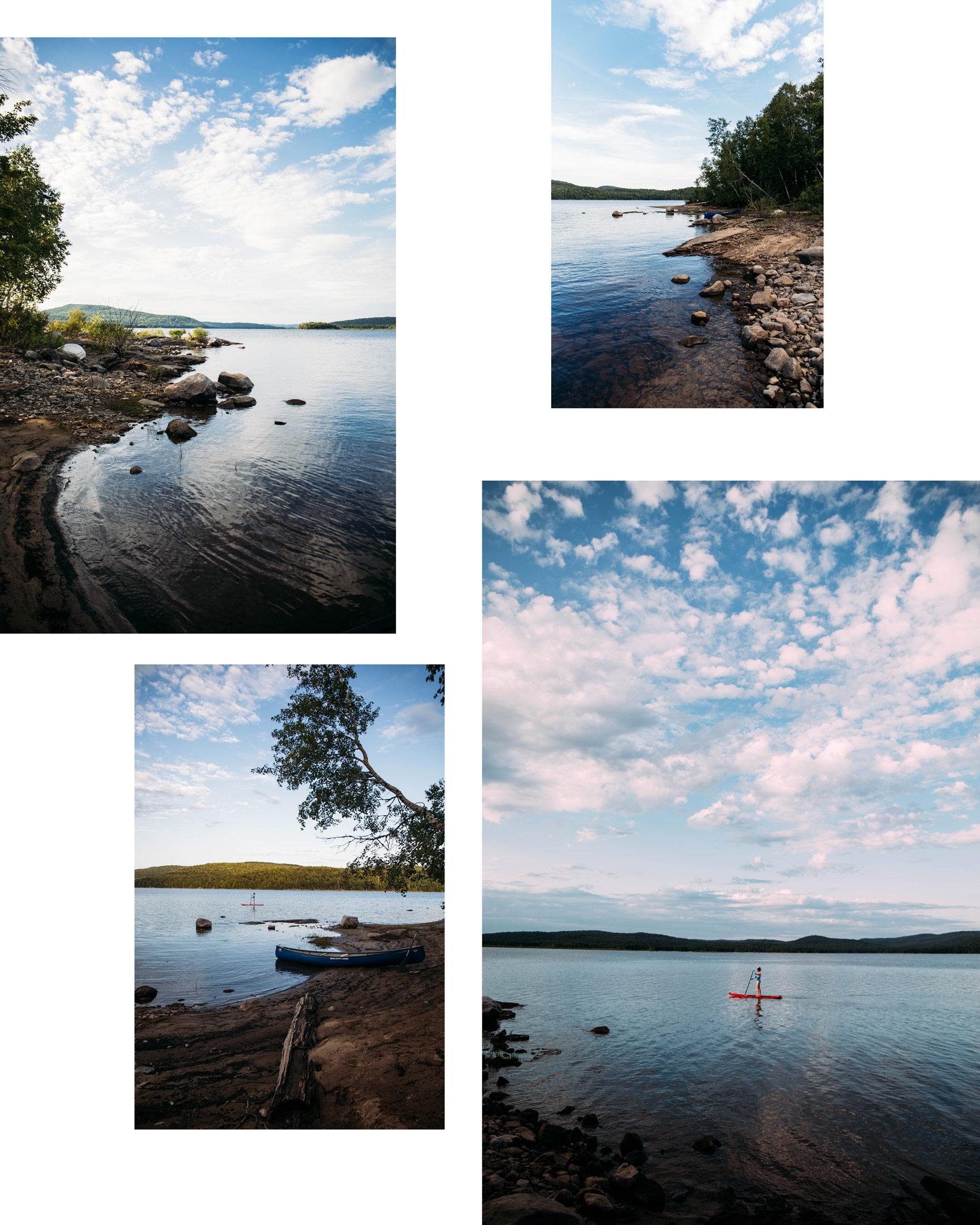 découverte du parc régional Kiamika dans les Laurentides