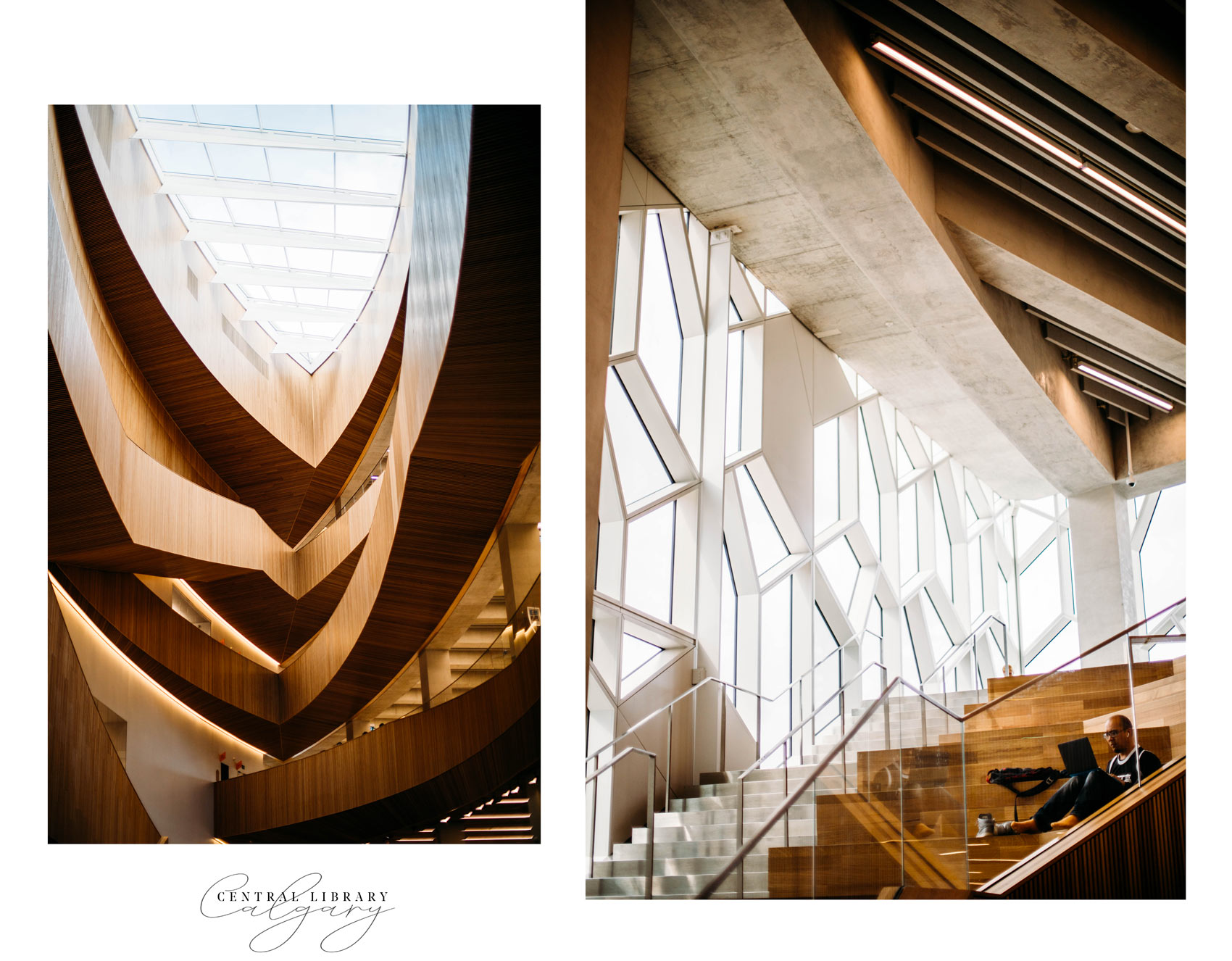 design of central library Calgary
