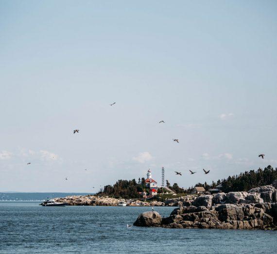Québec — dormir dans un phare le temps d'une nuit