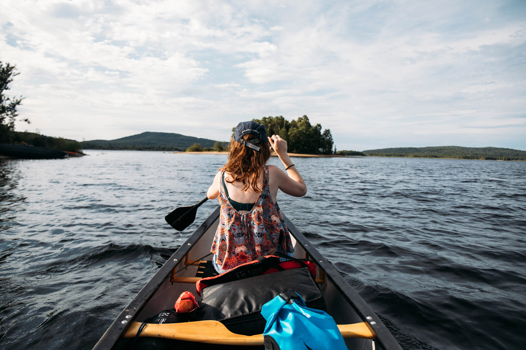 faire du canot-camping au Québec