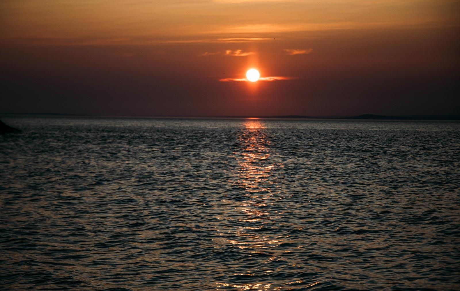 lever de soleil au Québec
