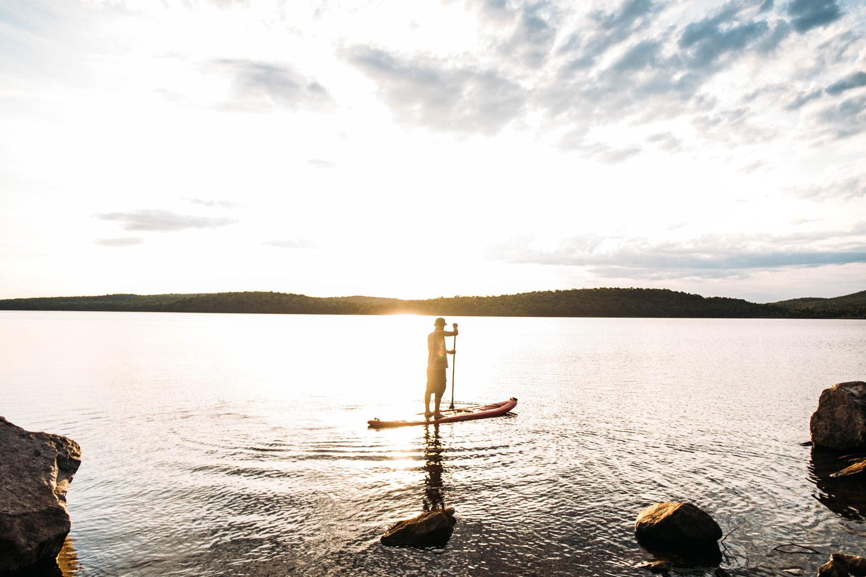 meilleur spot paddle Québec