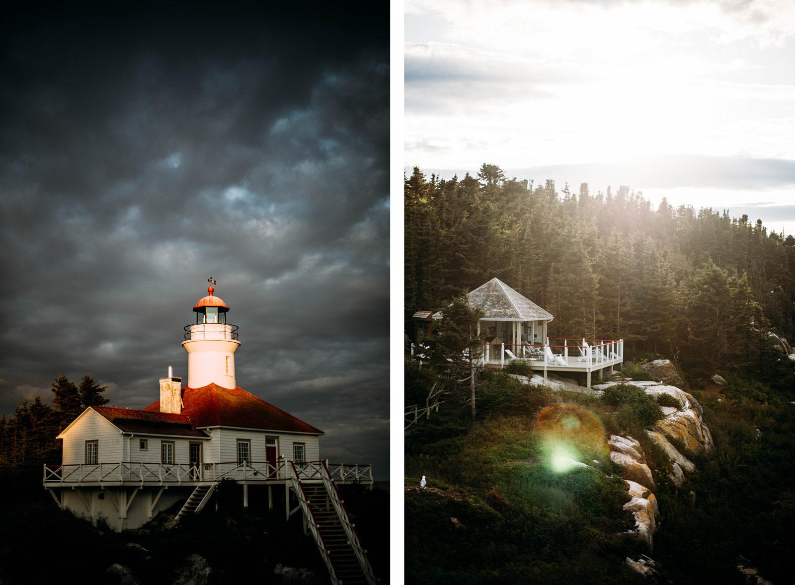 nuit insolite dans un phare