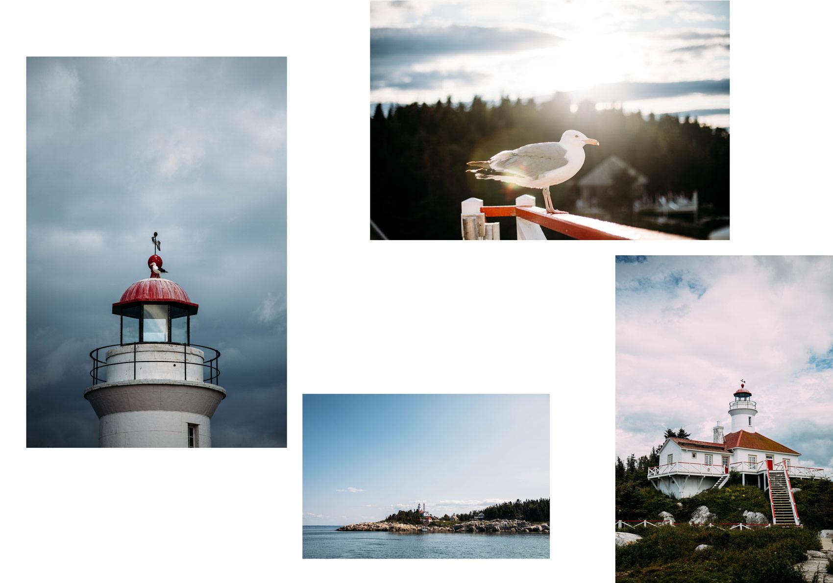 où dormir dans un phare au Canada