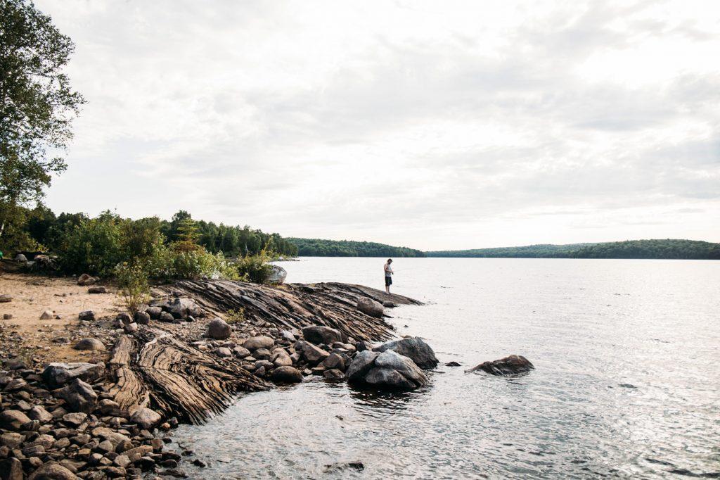parc régional Kiamika au Canada