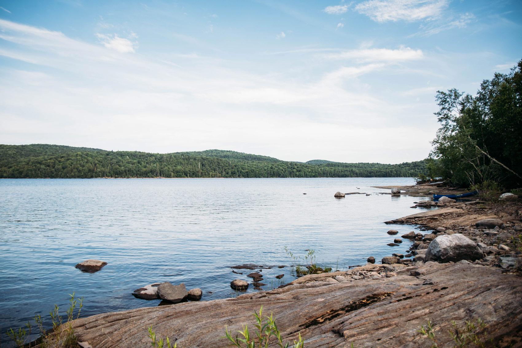 paysages du parc régional Kiamika