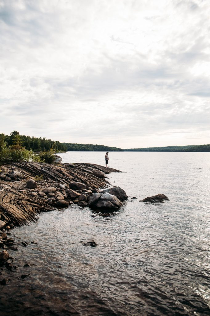 pêcher au parc régional Kiamika