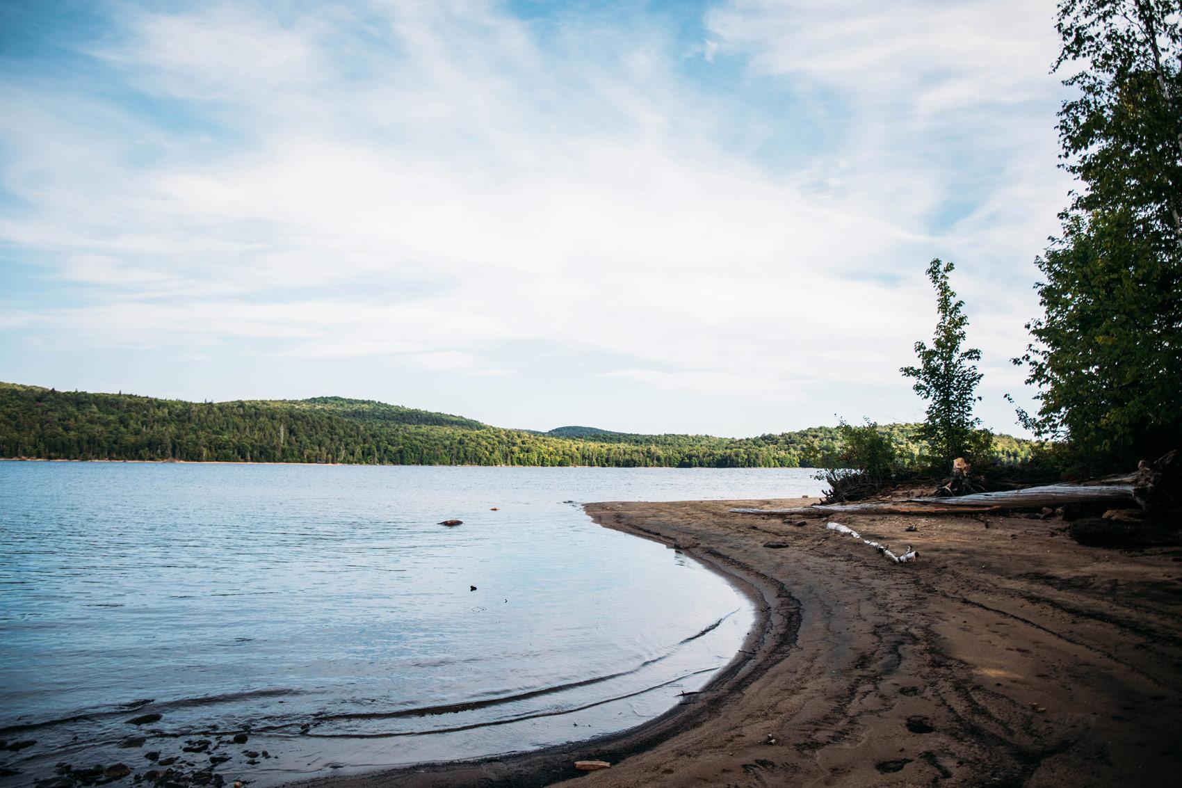 visiter le parc régional Kiamika au Québec