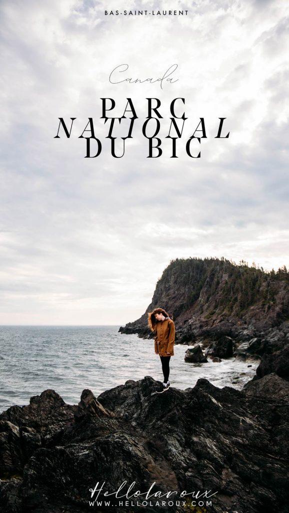 visiter le parc national du Bic et randonnée