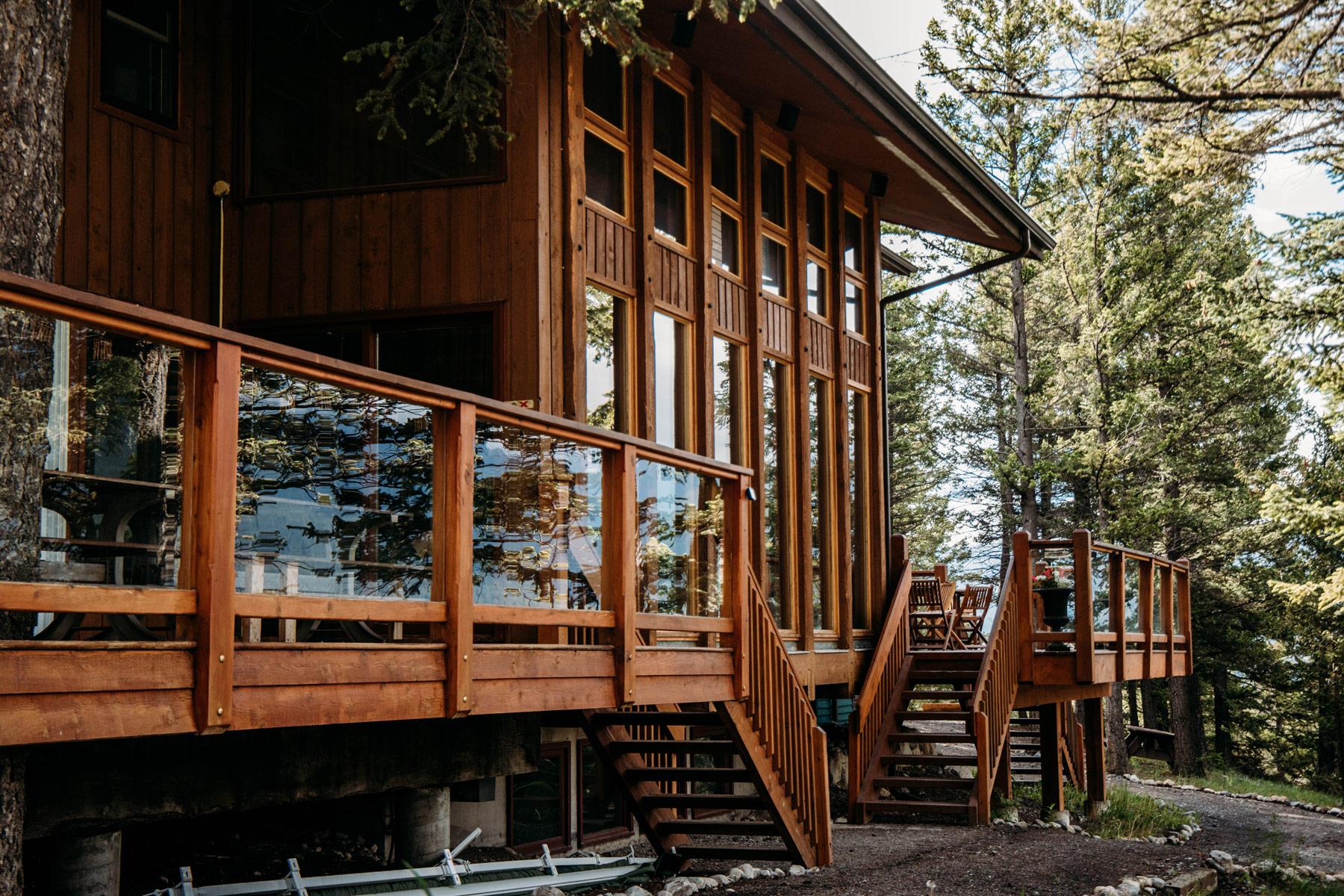auberge HI Canmore parc national de Banff