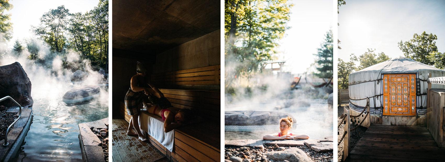 découverte du Nordik spa en Outaouais