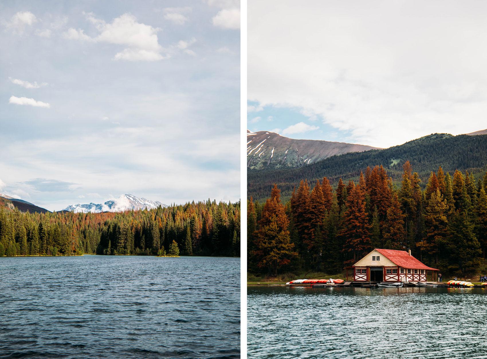 paysages de l'ouest canadien