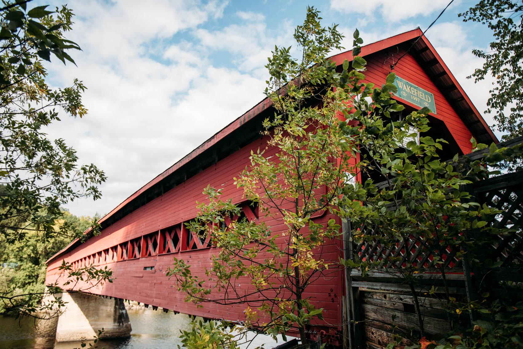 pont couvert Wakefield en Outaouais