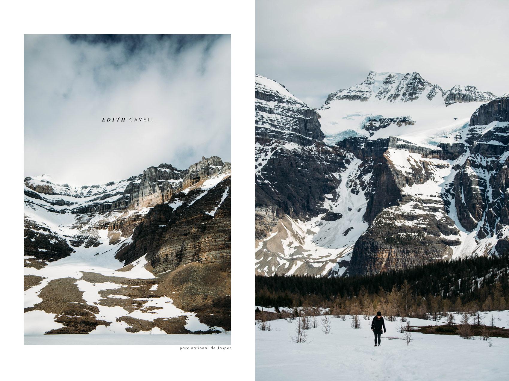 randonnée Mont Edith Cavell blog outdoor