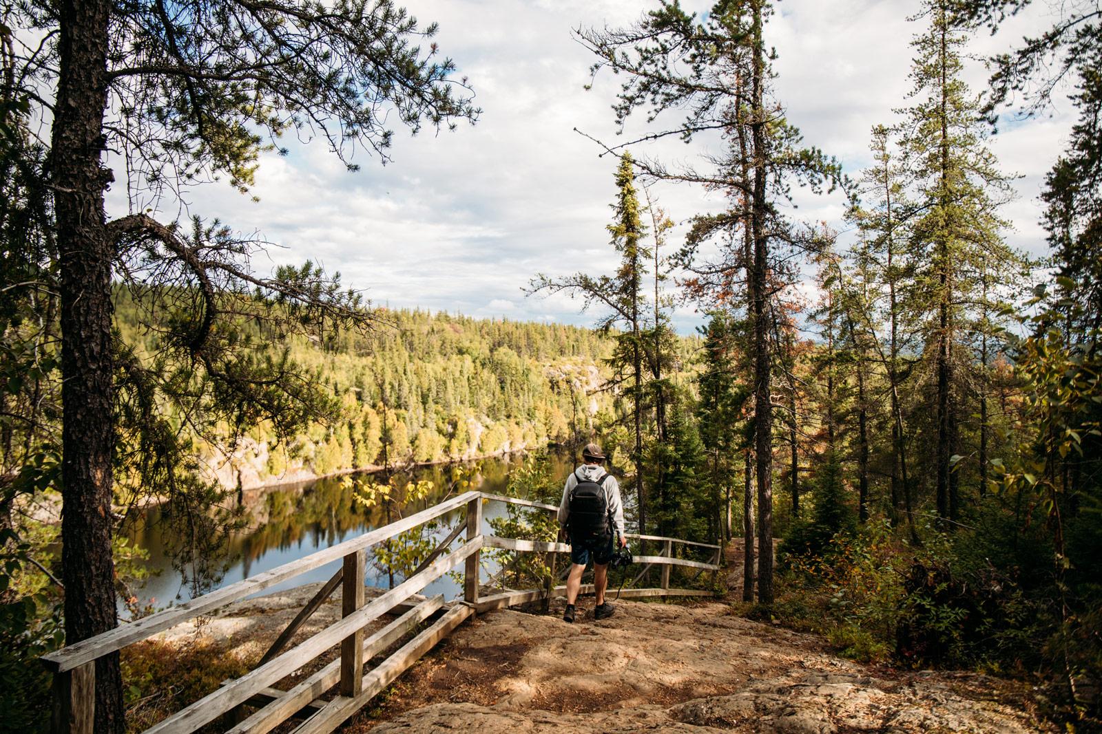randonnée parc national Aiguebelle Abitibi-Témiscamingue