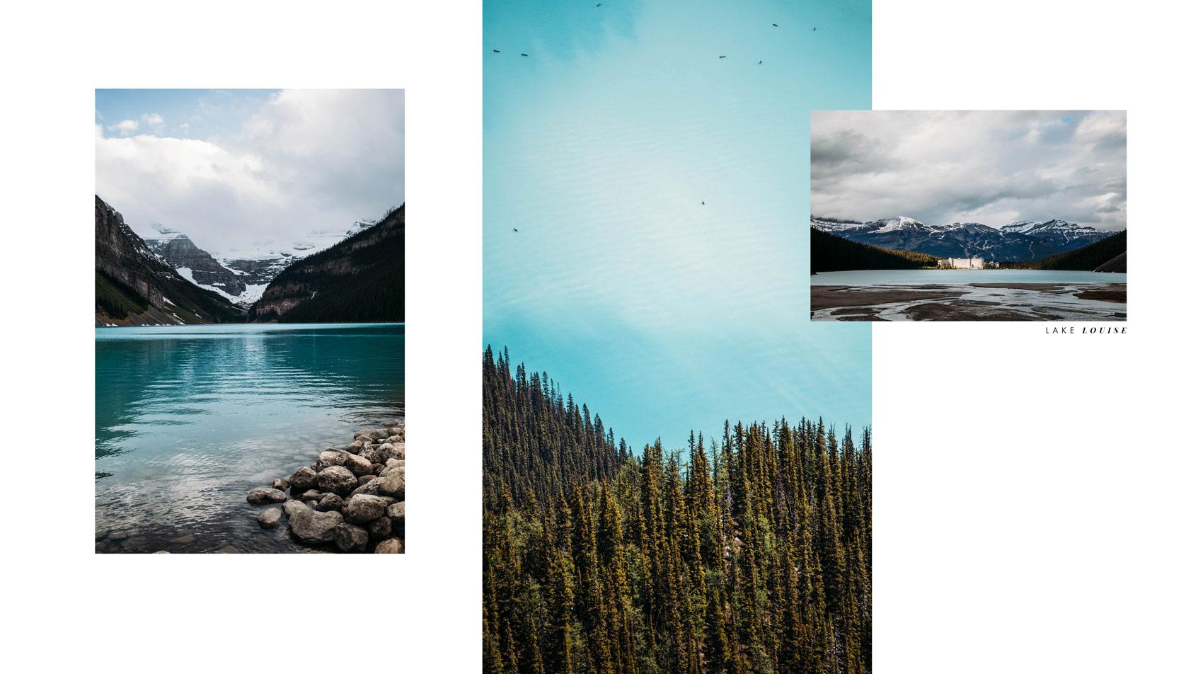 voir lac louise ouest canadien