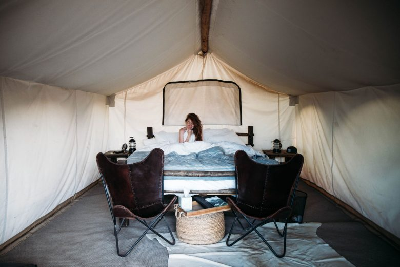 "Under Canvas — du ""glamping"" au parc national de Zion"
