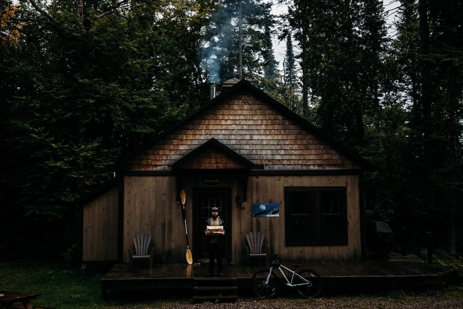 hébergement chalet nature : parc montagne du diable