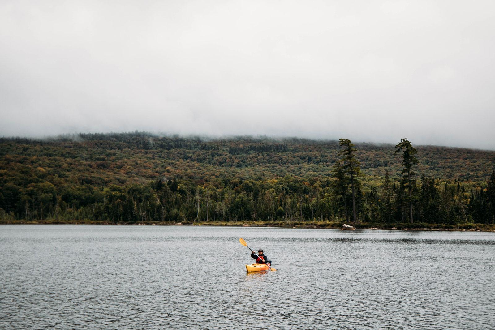 kayak parc régional Montagne du diable