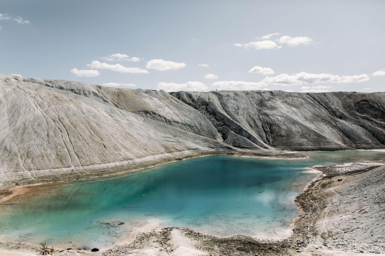 la mine au lac turquoise Québec