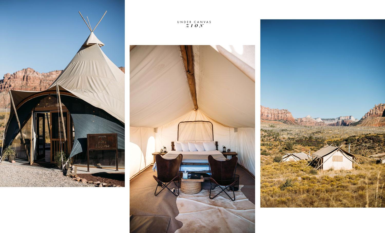 ou dormir parc national Zion