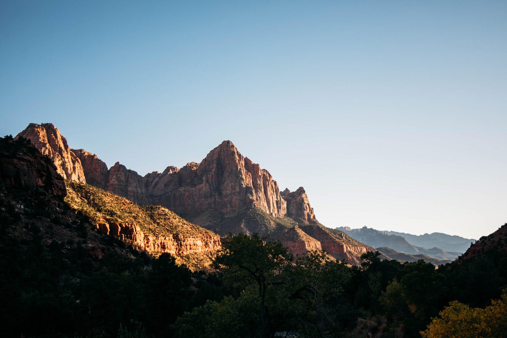 parc national Zion où dormir