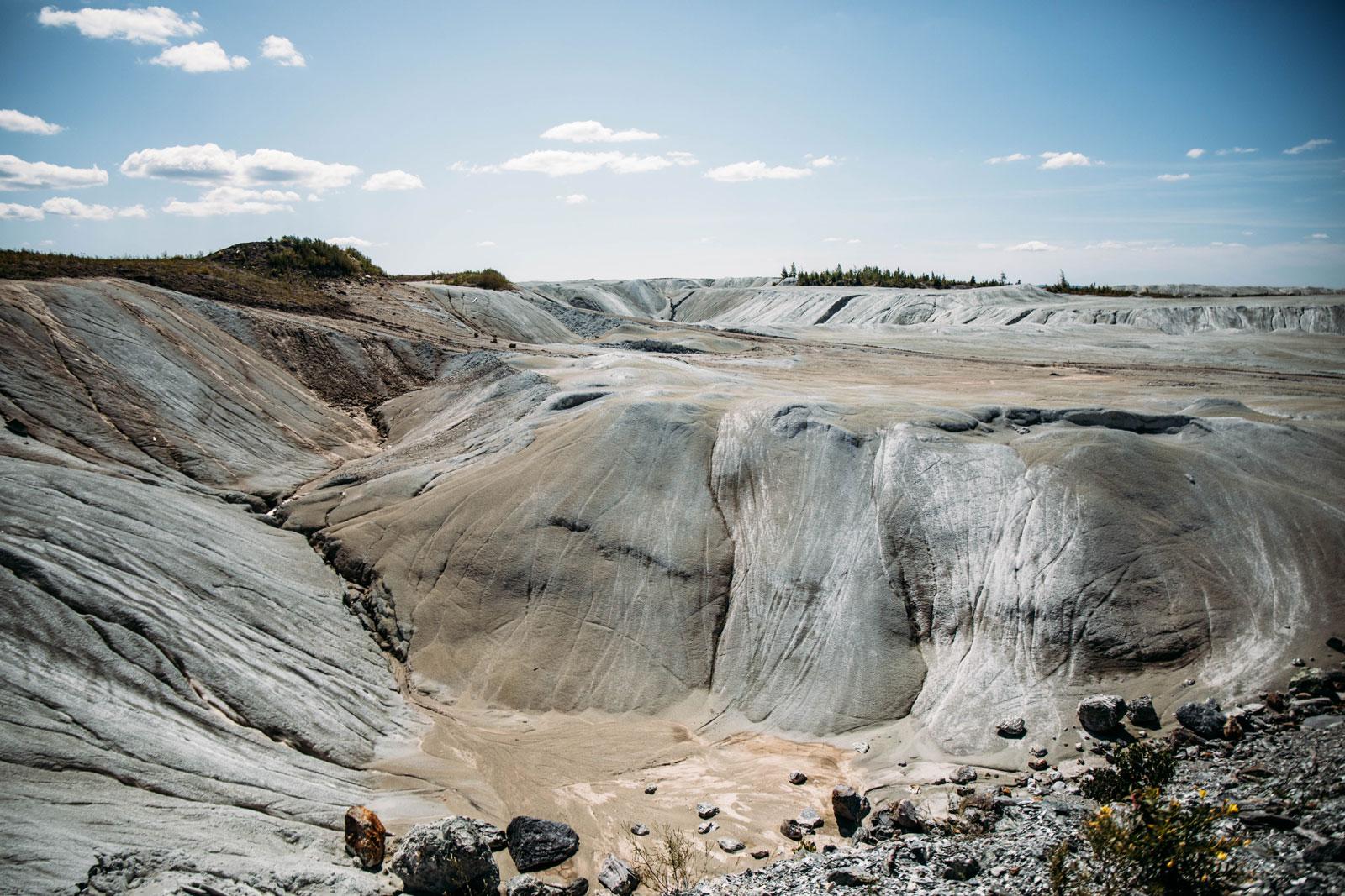 paysage minier Thethford Mines