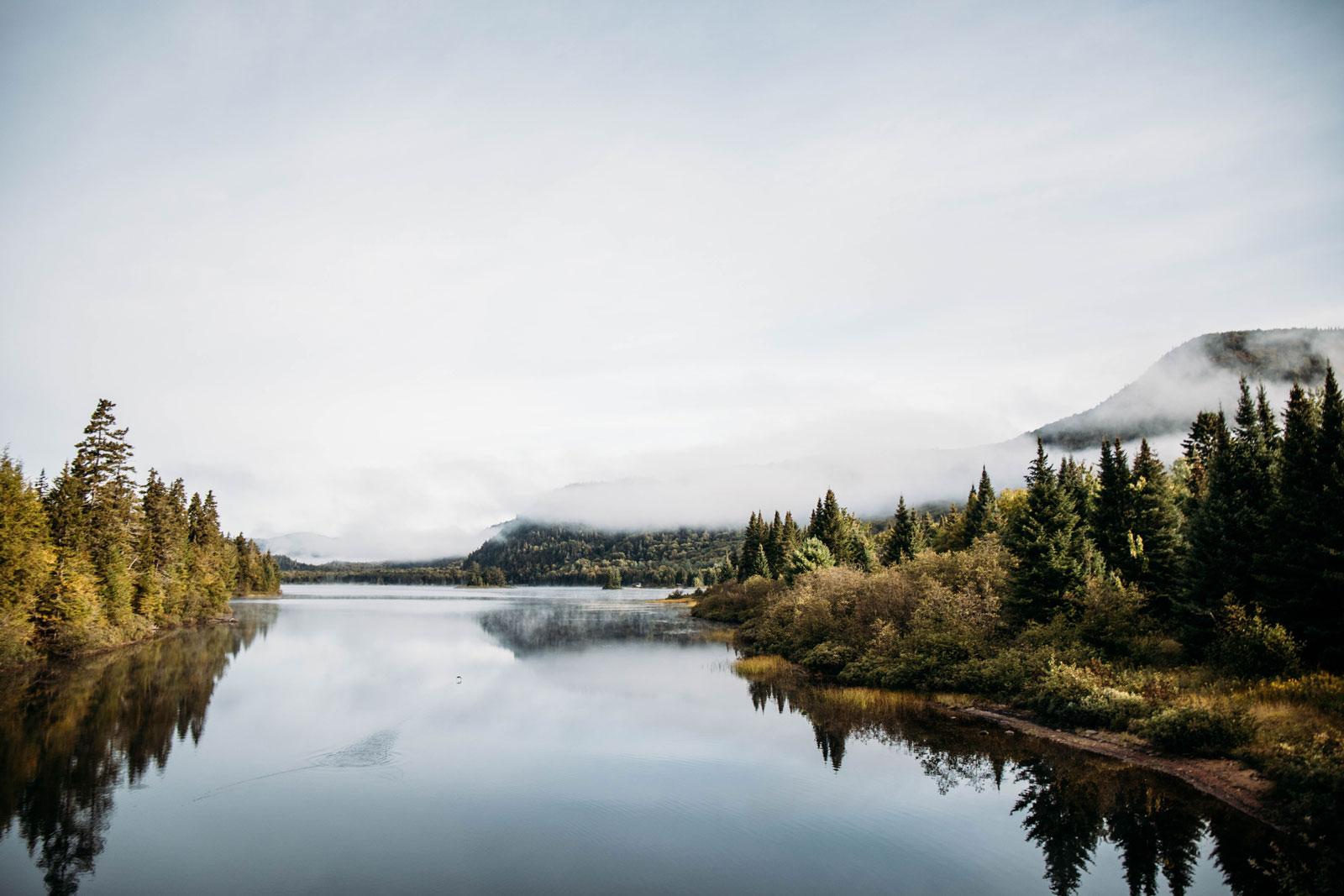 paysages des Laurentides Québec