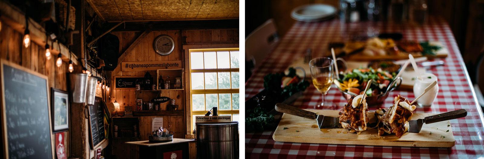 première cabane à pommes du Québec