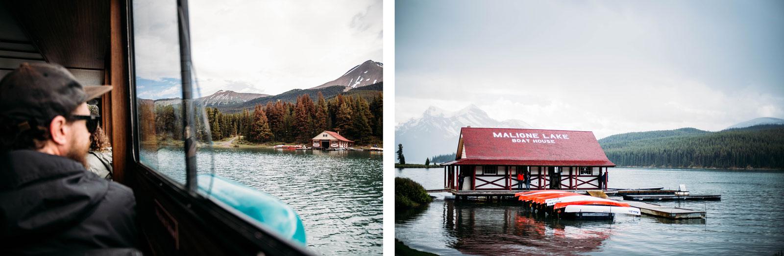 rocheuses canadiennes lac maligne jasper