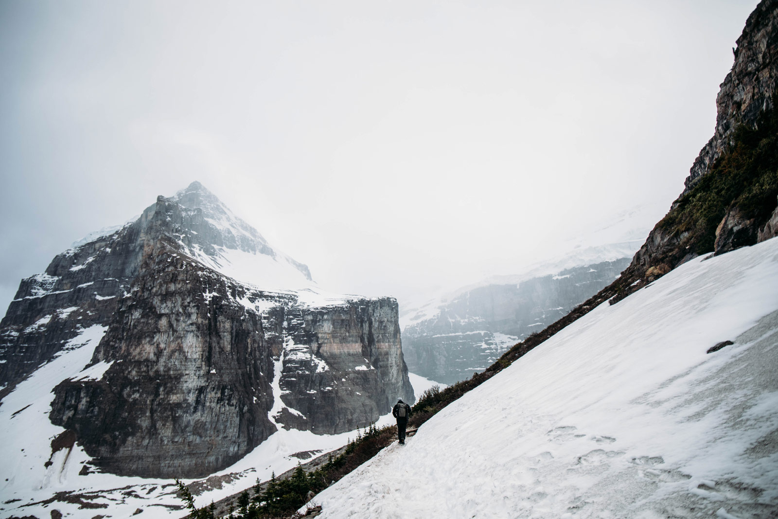 Rocheuses Canadiennes : plain of six glaciers
