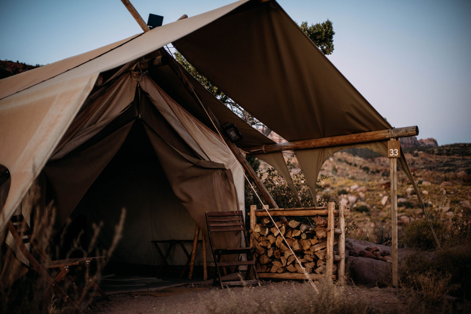 test under canvas camping luxe