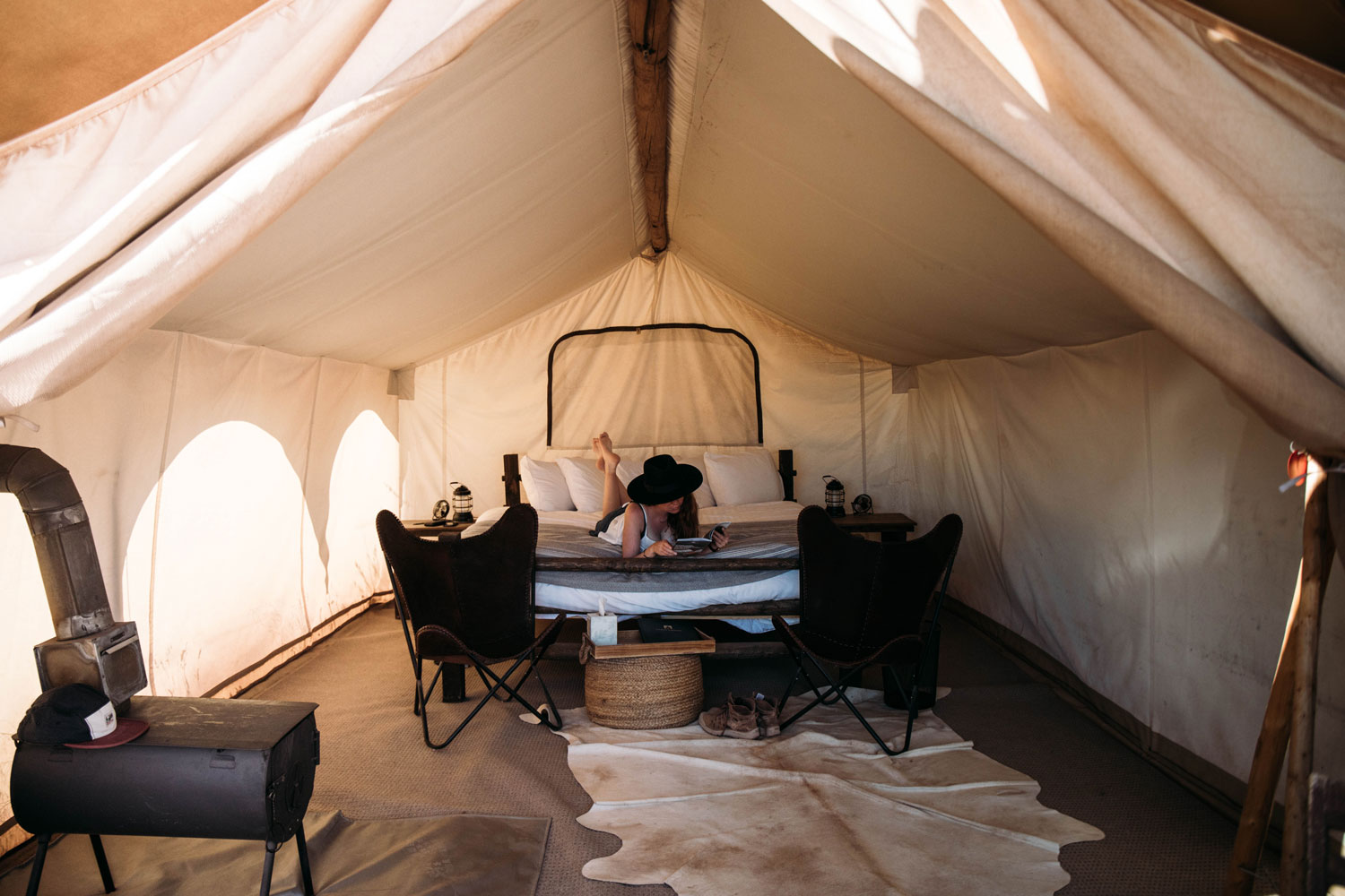 under canvas glamping springdale Zion