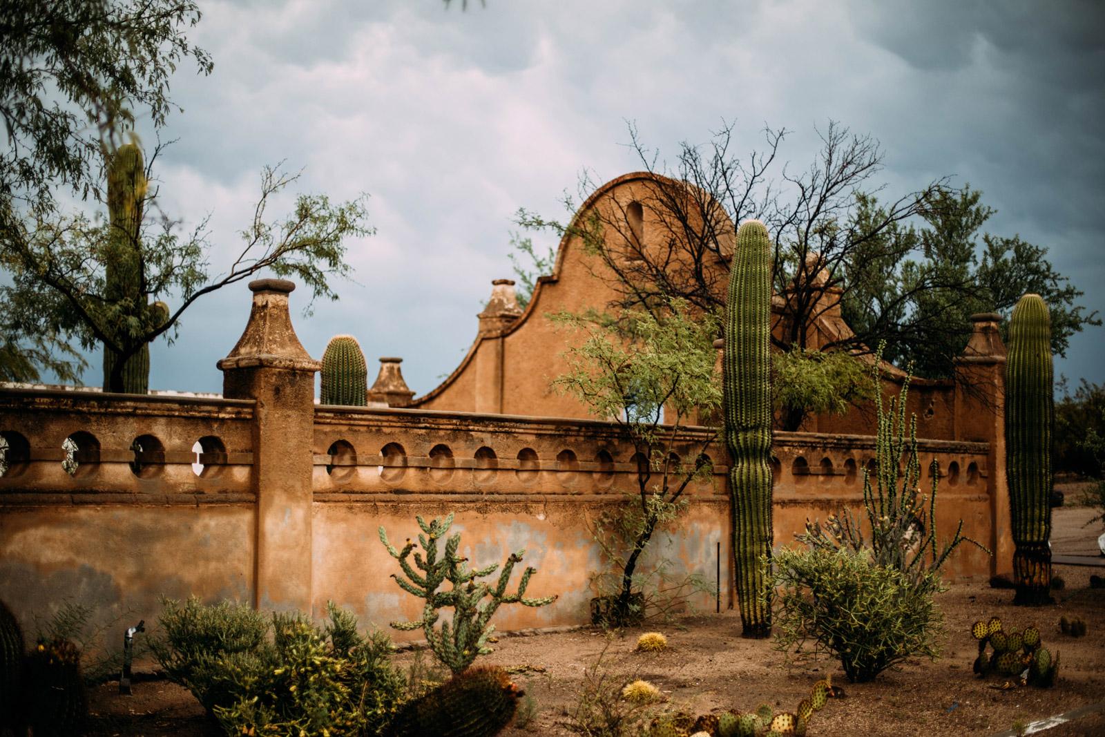visiter la mission espagnole de Tucson