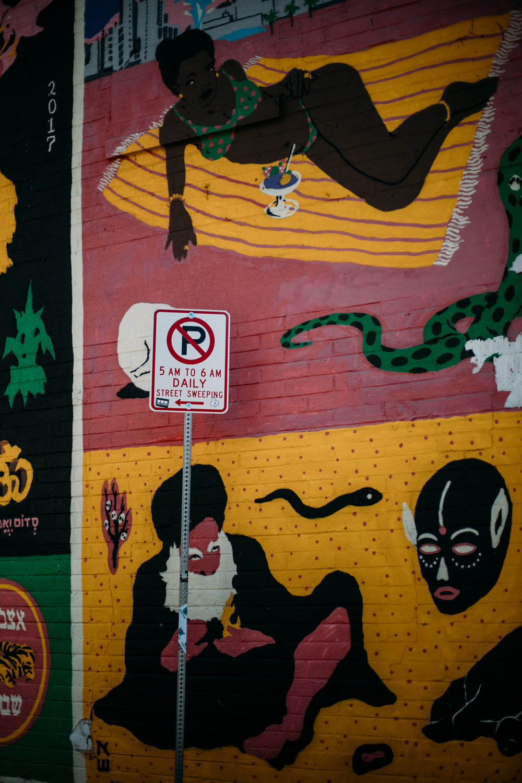 detail fresque mural Las Vegas