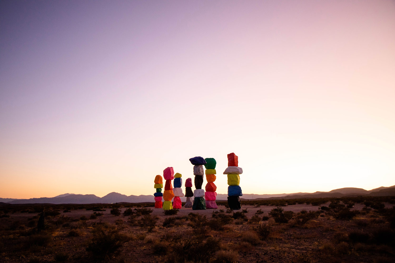 seven magic mountains adress