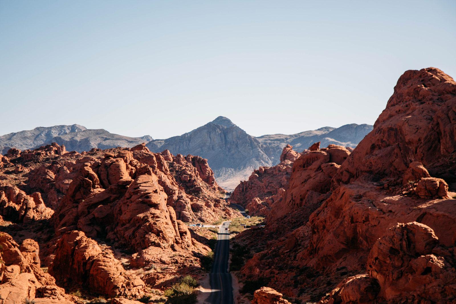 visiter les environs de Las Vegas et la valley of fire