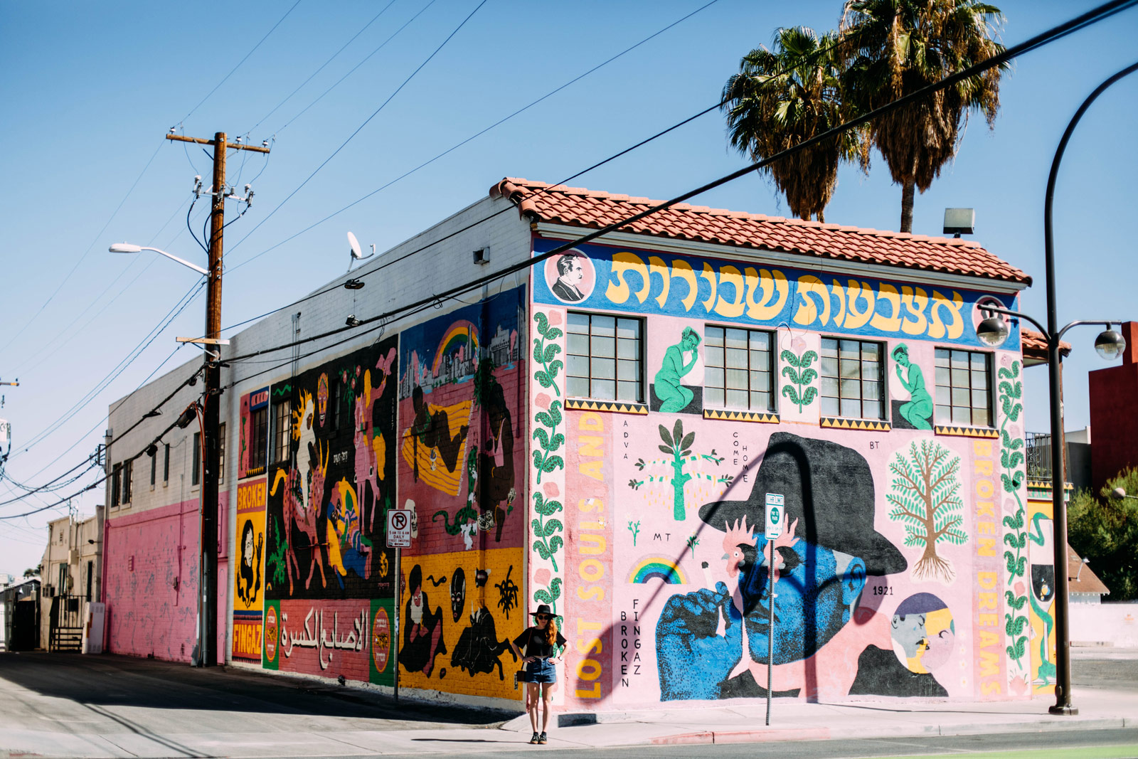 visiter Las Vegas downtown street art